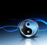 3d Yin Yang Symbol Royalty Free Stock Photos