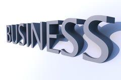 3D zaken Stock Fotografie