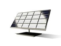 3d zonnecel Stock Illustratie