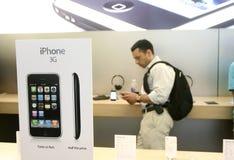 3g iphone新的销售额 库存照片