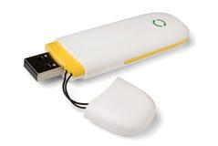 3g mobiele modem stock afbeelding