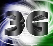 3G network symbol Stock Images