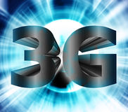 3G network symbol Stock Photography
