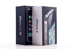 3gs 4 jabłka iphone zdjęcie royalty free