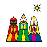 3kings illustration libre de droits
