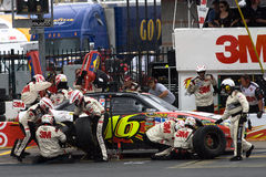 3m Ford Pit Stop Stock Image