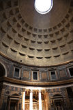 3pm Pantheon Sundial Effect Rome Italy Royalty Free Stock Image