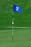 3rd hole Stock Photography