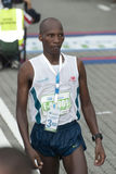 3rd kl-maratonvinnare Fotografering för Bildbyråer