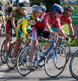 On the 3rd stage of the International cycling Royalty Free Stock Photos