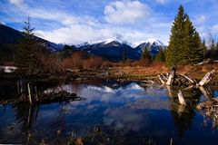 The 3rd Vermillion Lake at Spring Royalty Free Stock Image