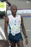 The 3rd Winner KL Marathon. Kuala Lumpur, June 26 : John Kprop Samoel, from Kenya is winning the third position in the Half Marathon category of Standard Stock Image