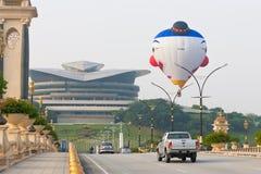 3ro Fiesta internacional del globo del aire caliente de Putrajaya Imagen de archivo