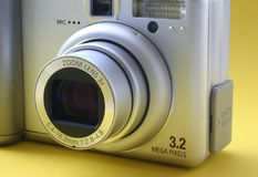 3x ζουμ φακών Στοκ φωτογραφίες με δικαίωμα ελεύθερης χρήσης