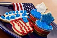4ème des desserts de juillet Photos libres de droits