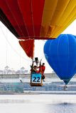 4ème Fiesta chaude internationale de ballon à air de Putrajaya Images libres de droits
