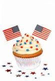 4ème gâteau juillet Photographie stock libre de droits