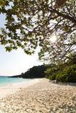 4ème plage similan d'île Image libre de droits