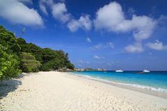 4ème plage similan d'île Photos libres de droits