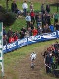 4ème rond de la coupe du monde 2011-2012 de Cyclocross Image libre de droits