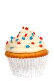 4ème thème de juillet de gâteau Images libres de droits