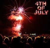 4η Ιουλίου Στοκ Εικόνα