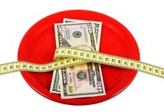4严谨的饮食 免版税库存图片
