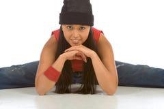 4个中断舞蹈演员 图库摄影