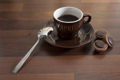 4个咖啡杯 库存图片