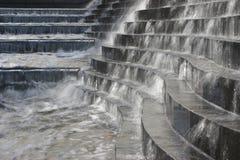 4个喷泉水 免版税图库摄影