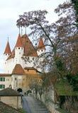4个城堡瑞士 免版税库存图片