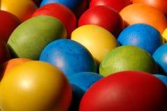 4个复活节彩蛋 免版税库存图片