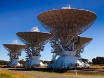 4个天线天文 库存图片