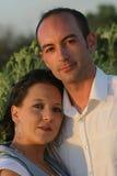 4个夫妇年轻人 免版税库存图片