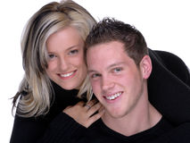 4个夫妇年轻人 库存图片
