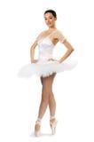 4个女孩芭蕾舞短裙 免版税库存照片