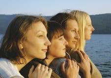 4个女孩 免版税图库摄影