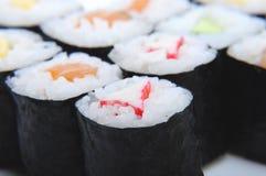 4个寿司 免版税库存图片