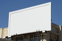 4个广告牌空白 免版税库存图片