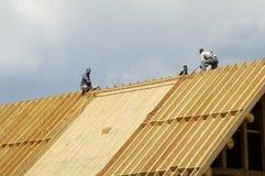 4个建筑房子日志 库存图片
