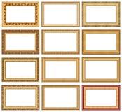 4个收集框架照片 免版税图库摄影