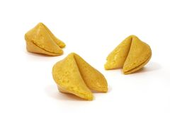 4个曲奇饼时运 免版税库存图片