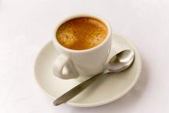 4个杯子浓咖啡 免版税库存图片