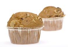 4个松饼系列 免版税库存图片
