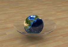 4个概念地球 免版税库存照片