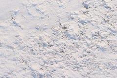 4个模式雪纹理 图库摄影