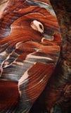 4个模式petra岩石 库存照片