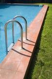 4个池游泳 免版税库存照片
