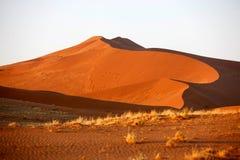4个沙丘沙子 库存照片