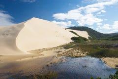 4个沙丘 库存照片
